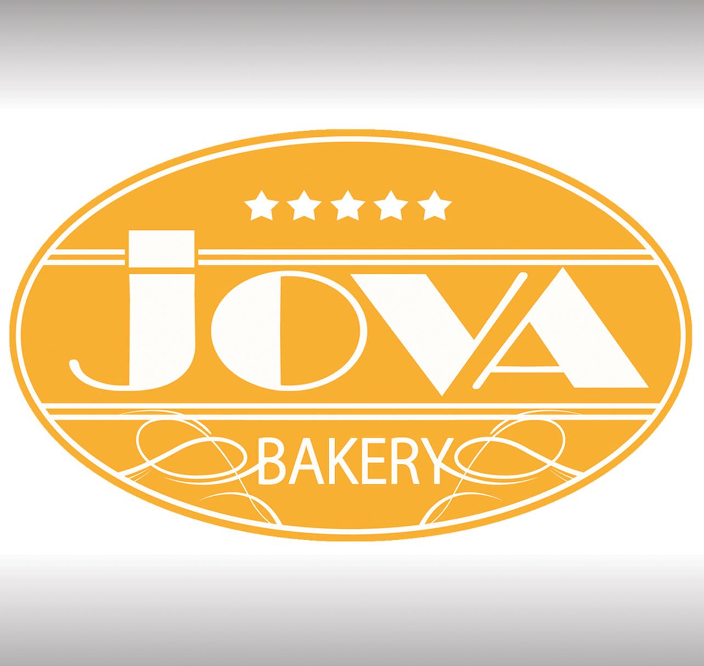 Desain Logo Jova Bakery
