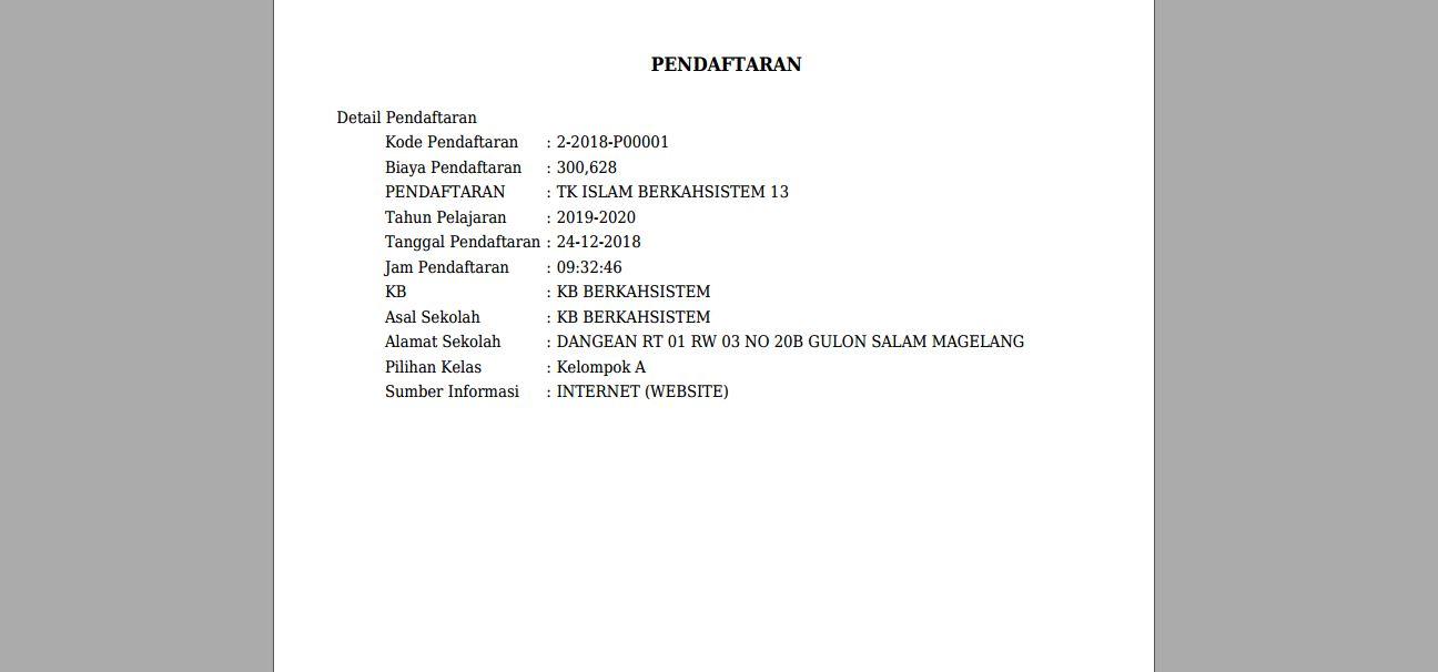 <p>Halaman Cetak Pendaftaran<br></p>