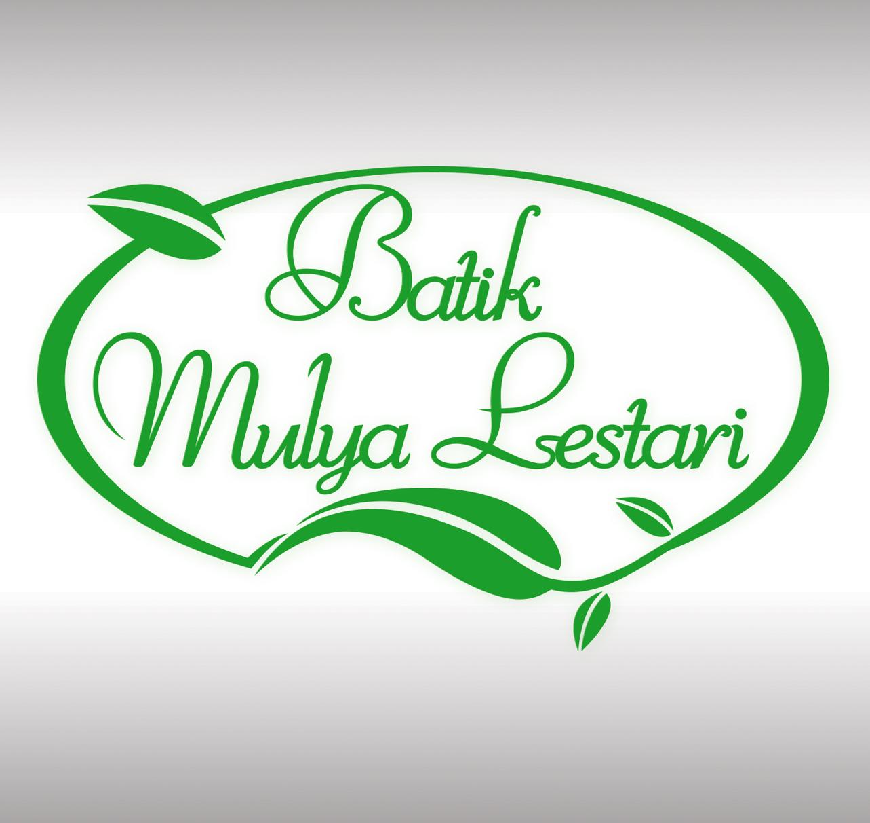 Desain Logo Batik Mulya Lestari