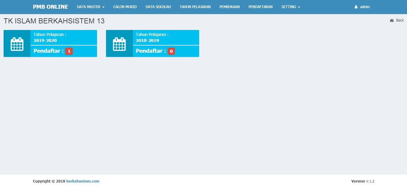 <p>Halaman Detail Pendaftaran Berdasarkan Tingkatan Sekolah<br></p>
