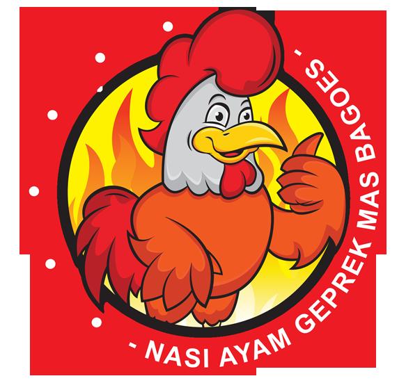Logo Nasi Ayam Geprek Mas Bagoes