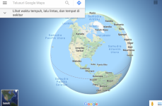 Google Maps Merilis Tampilan Peta Tiga Dimensi (3D)